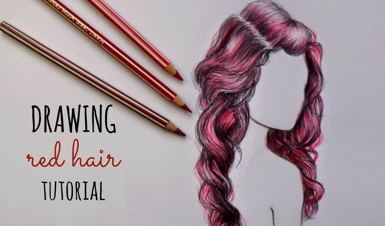1242x731 How To Draw Red Hair