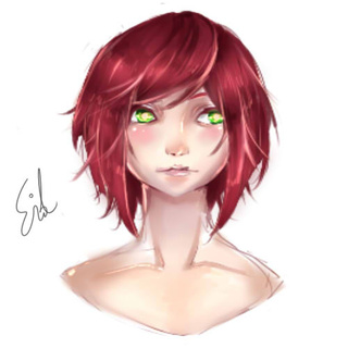 320x320 Practiced Doing A One Layer Drawing On Sai. This Method, For Me
