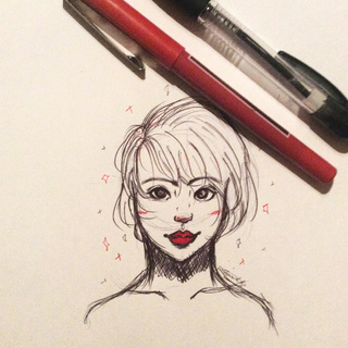 320x320 Redpen Drawings On Paigeeworld. Pictures Of Redpen