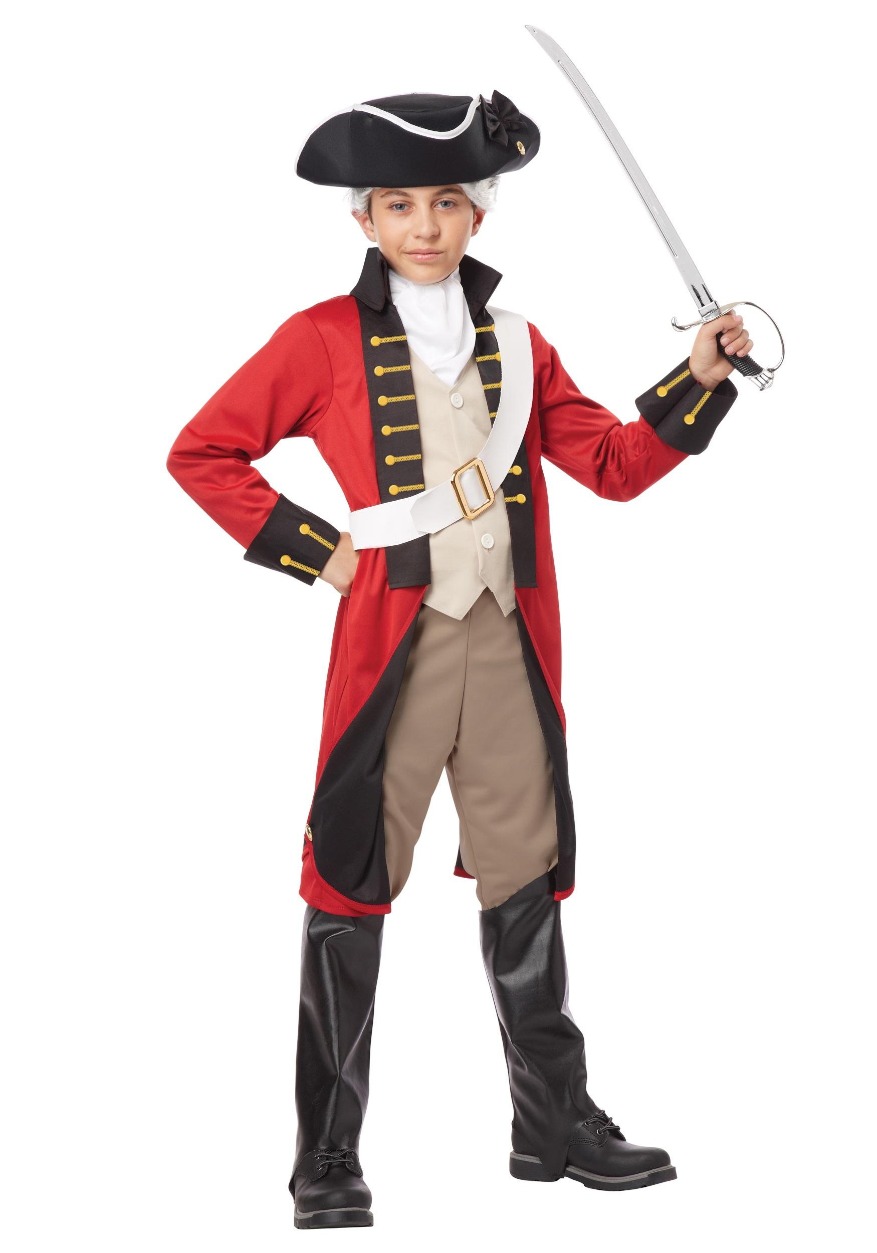 1750x2500 Boys British Redcoat Costume