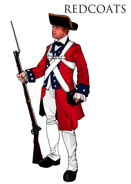 428x600 How To Draw A Red Coat Soldier Han Coats