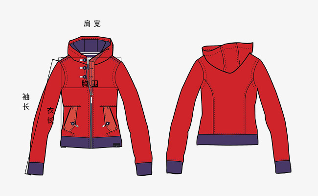 650x400 Red Coat Size Drawing, Red, Coat, Dimensions Png And Psd File