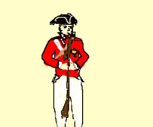 300x250 Redcoat (Drawing By Exometr)