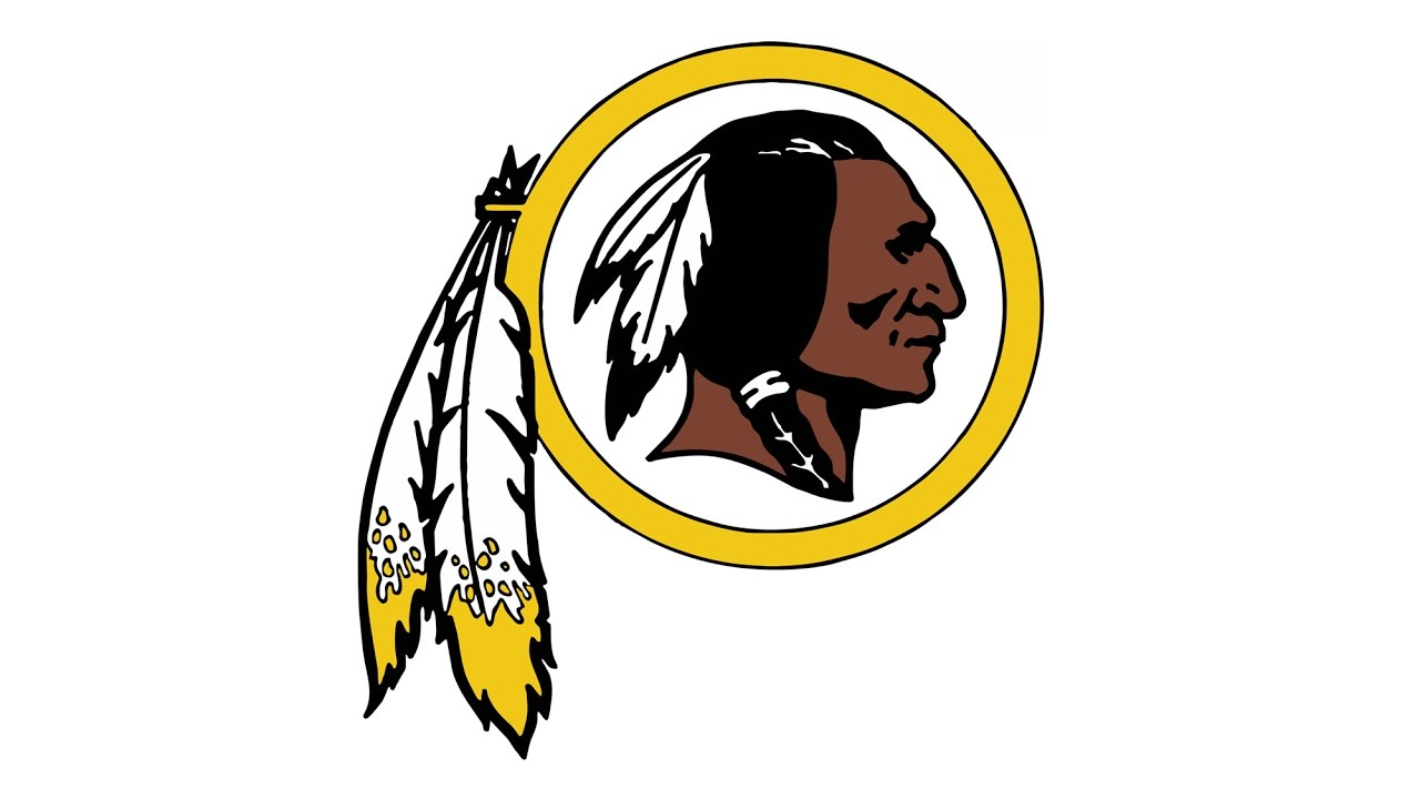 1280x720 How To Draw The Washington Redskins Logo (Nfl)