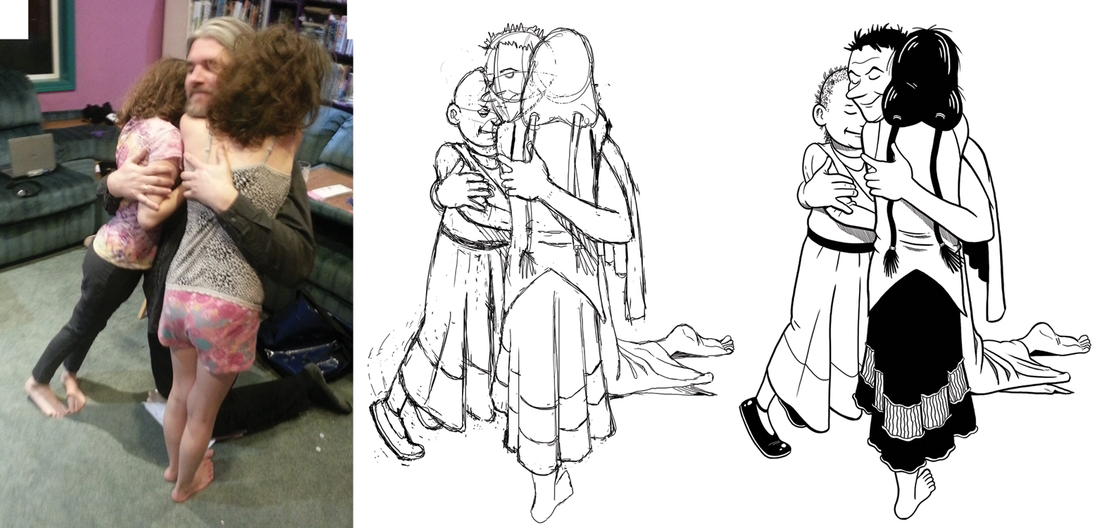 1572x750 Hereville Drawing Process Using Photo References