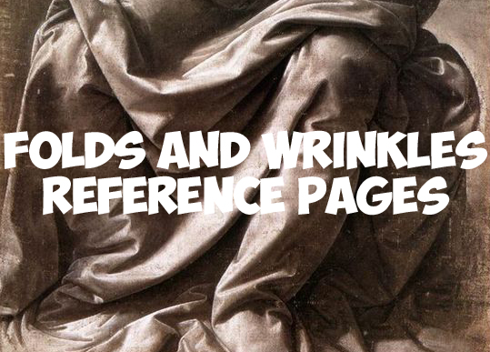 539x387 Drawing Wrinkles, Folds, Drapery, And Pleats Reference Pages