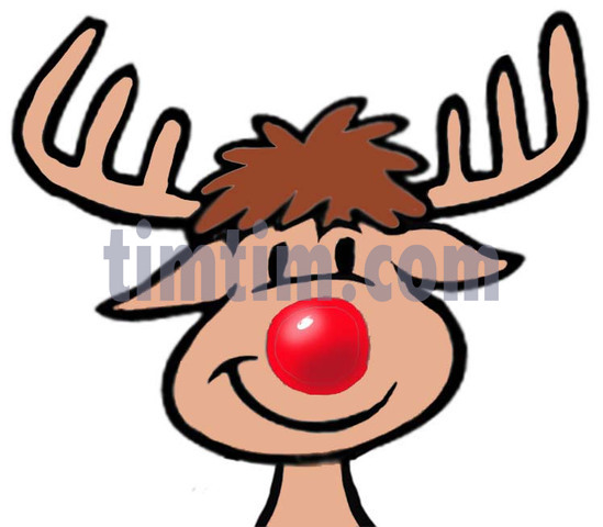 549x480 Free Drawing Of 1 Rudolph From The Category Christmas