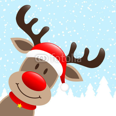 400x400 Images Of Reindeer Faces