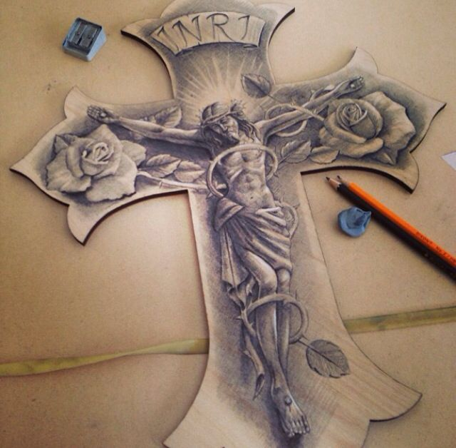 640x628 50 cross tattoos tattoo designs of holy christian celtic and