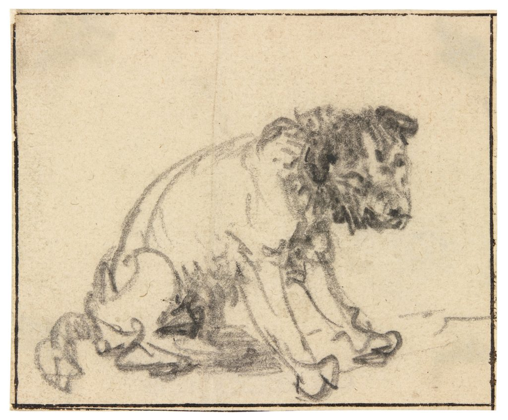 1024x847 German Museum Discovers New Rembrandt Drawing Artnet News