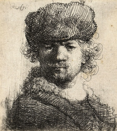 449x500 Rembrandt Self Portrait Cap.jpg