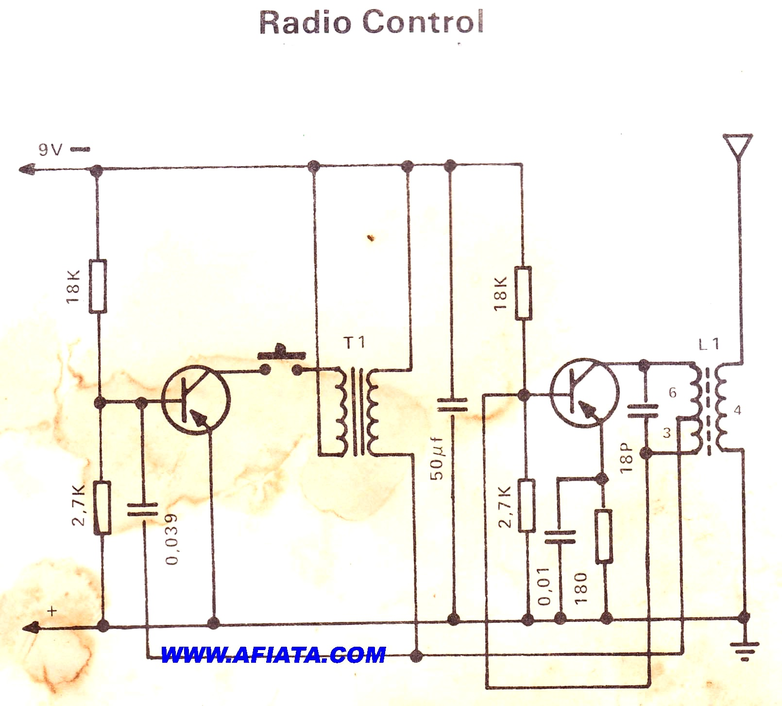 1610x1453 Component Radio Control Circuit Remote Page Breaker Using 2sa104
