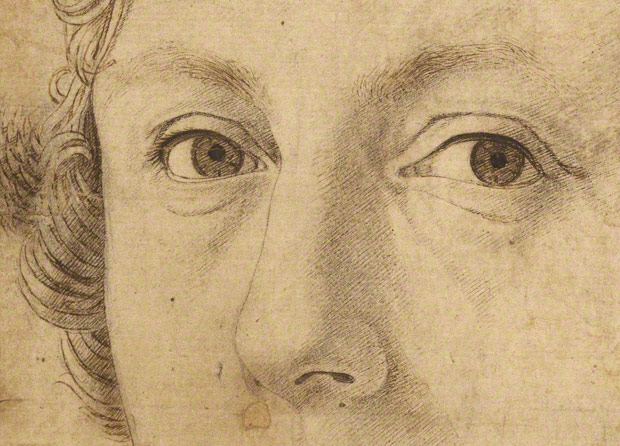 620x446 From Auction To Gallery A Major Renaissance Portrait Drawing