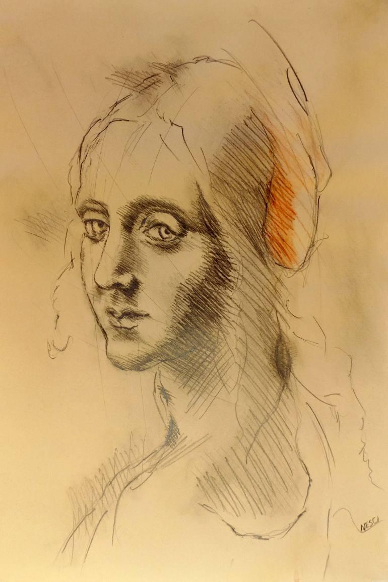 770x1155 Saatchi Art Inspired By Leonardo Da Vinci