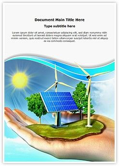 247x343 Renewable Energy Word Document Template Is One Of The Best Word