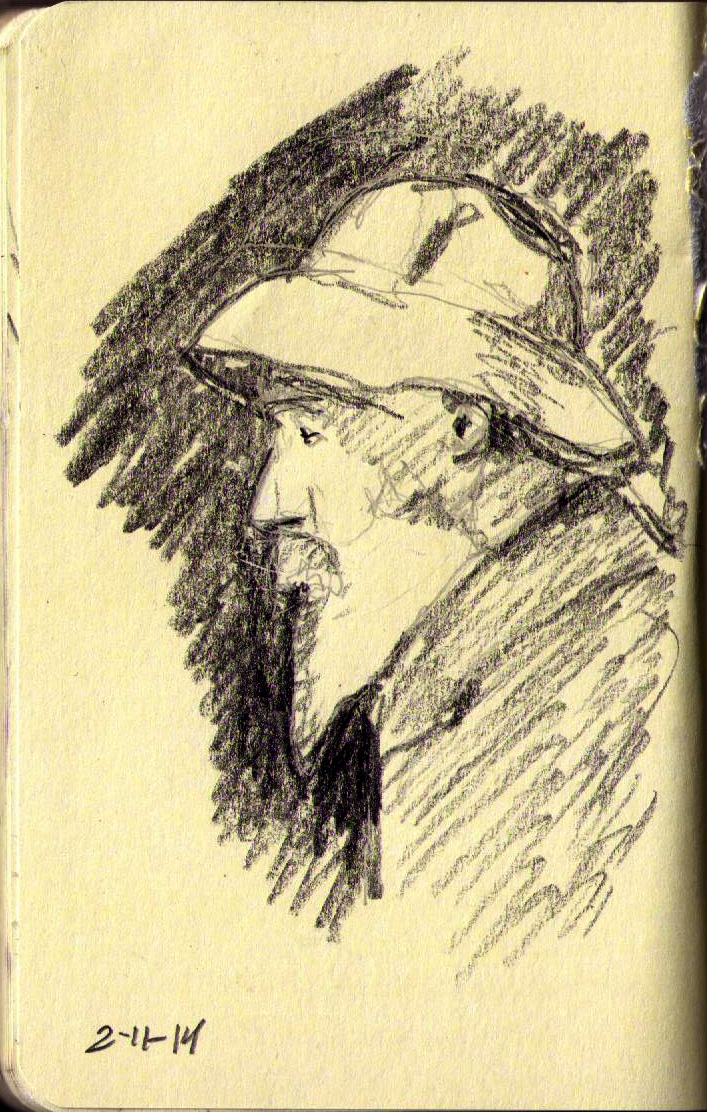 707x1112 126 Portrait After Renoir One Drawing Daily