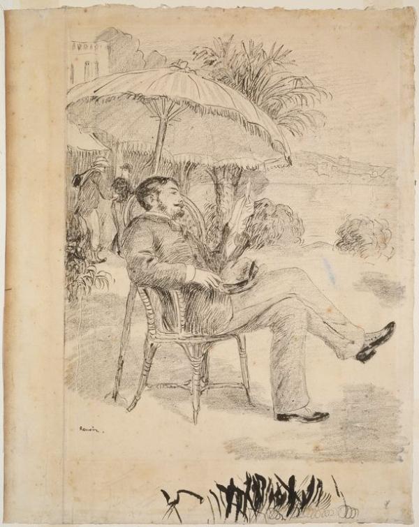 600x755 Pierre Auguste Renoir Biography.