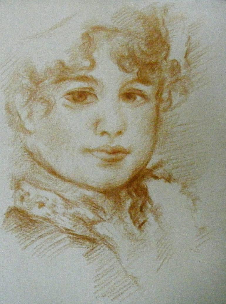 770x1034 Saatchi Art After Pierre Auguste Renoir Drawing By Waldemar A.s.