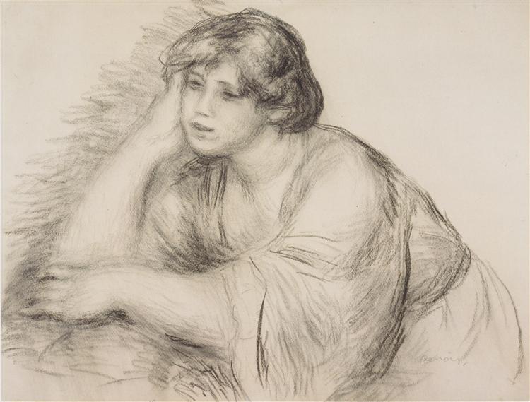 750x569 Sitting Girl, 1910
