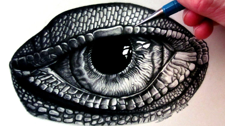 1500x844 How To Draw A Lizard Eye