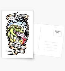 210x230 Reptiles Drawing Postcards Redbubble
