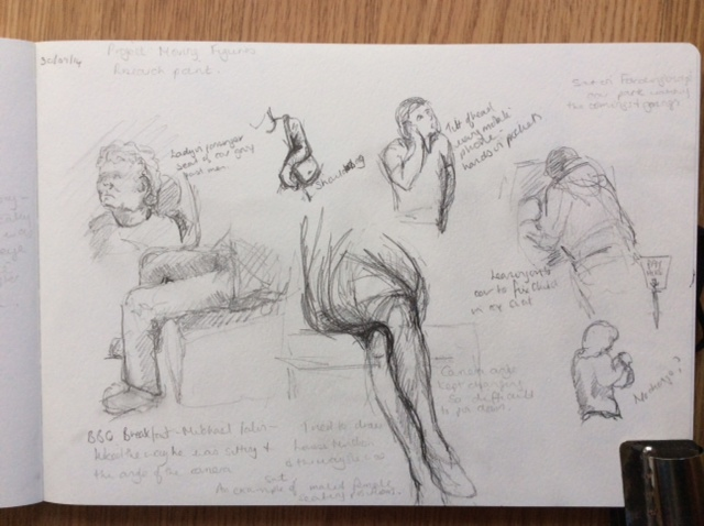 640x478 Figure Drawing Sitting And Waiting Ba (Hons) Degree Course
