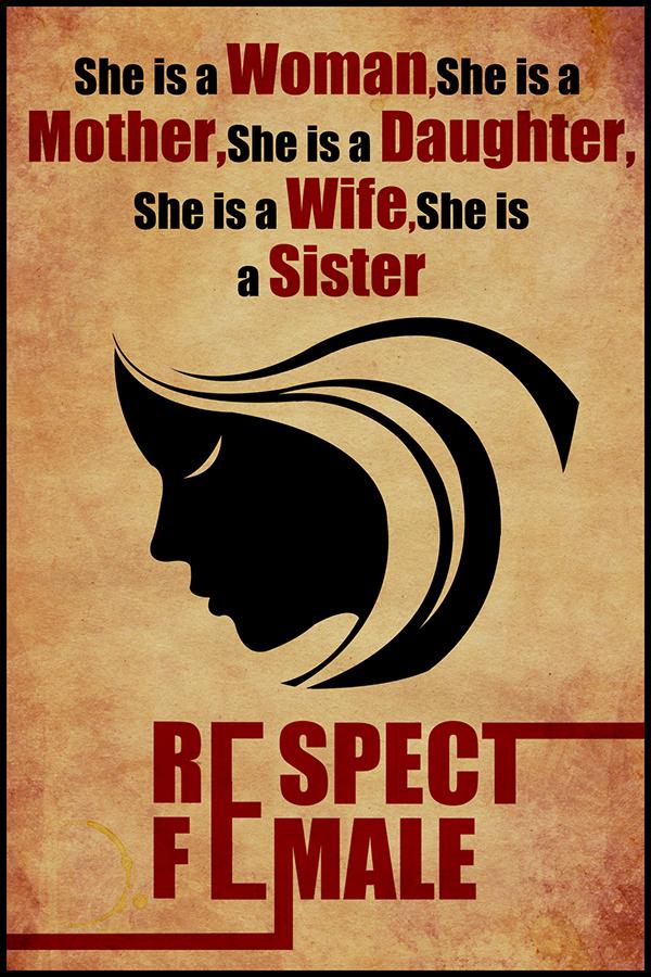 600x900 Respect Female