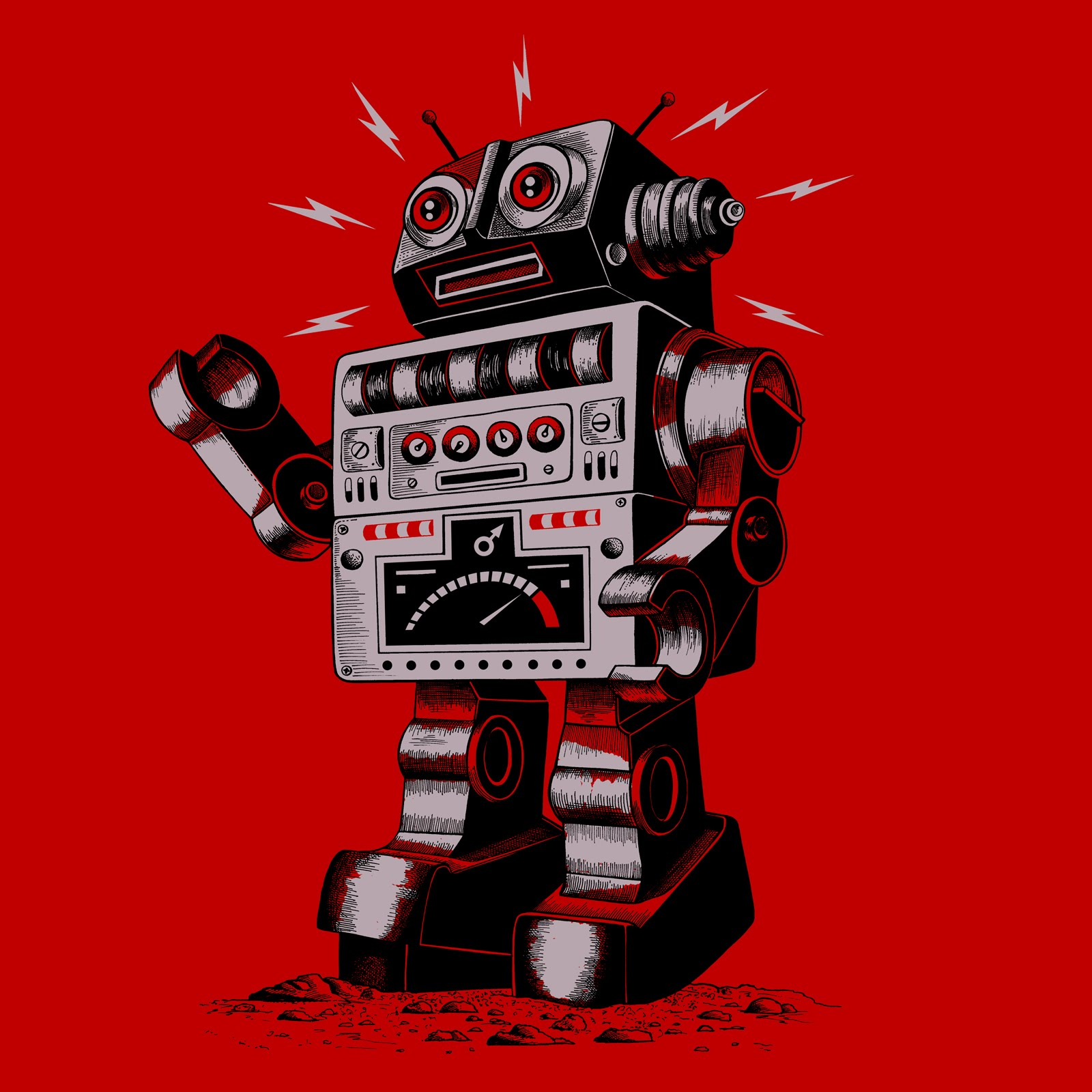 1600x1600 Robot Picture Thirsty Fly Vintage Robot Robots