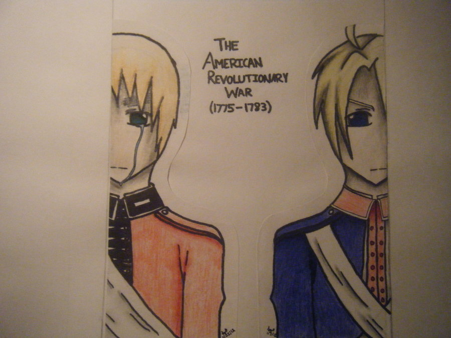 900x675 Aph The American Revolutionary War By Theartisticnote