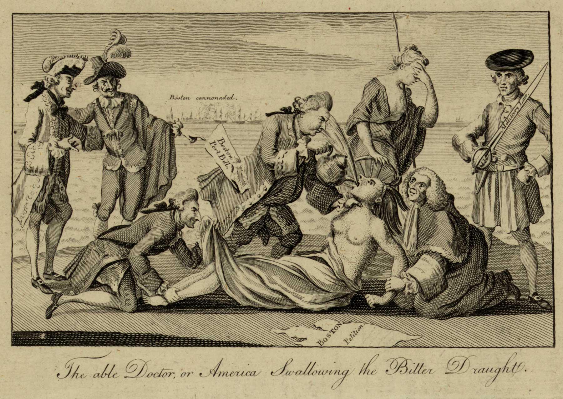 1800x1277 Boston 1775 Rape As A Cause Of The American Revolution