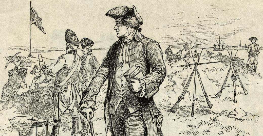 1038x539 Illlustration Of Nathan Hale Spying On British