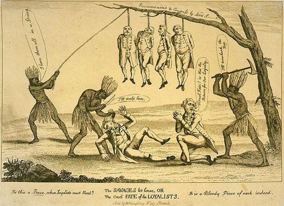 564x409 Revolutionary War Political Cartoons