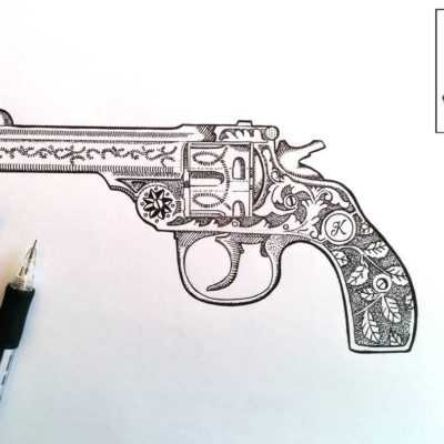 400x400 Sketch Art, Pencil Drawings Tag Revolver Archives