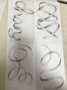 236x314 12717 Ribbon Shading 3a Art 1 Drawing Step And Draw