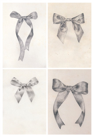 326x472 Best Photos Of Ribbon Pencil Drawings