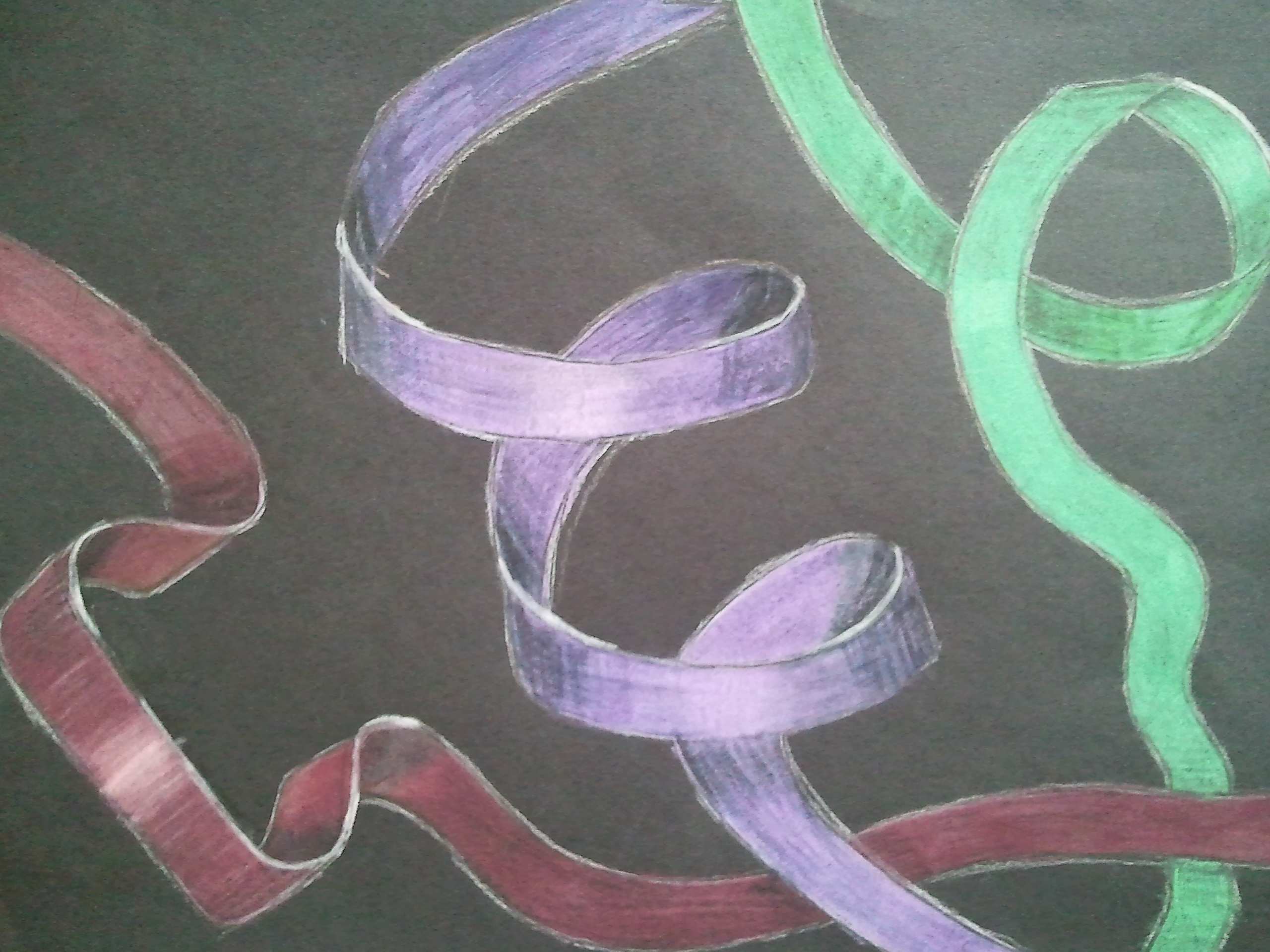 2560x1920 Rhythmic Ribbons Art Class Rocks