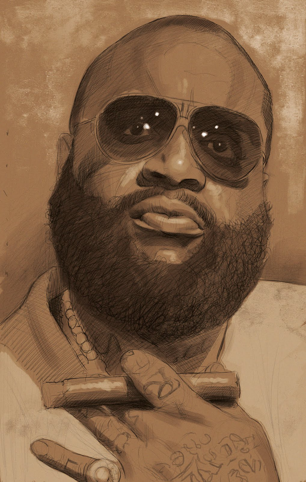 1018x1600 It's Funny Because It's True Rick Ross For Rolling Stone!