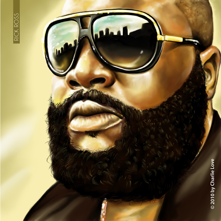864x864 Rick Ross By Painter0125
