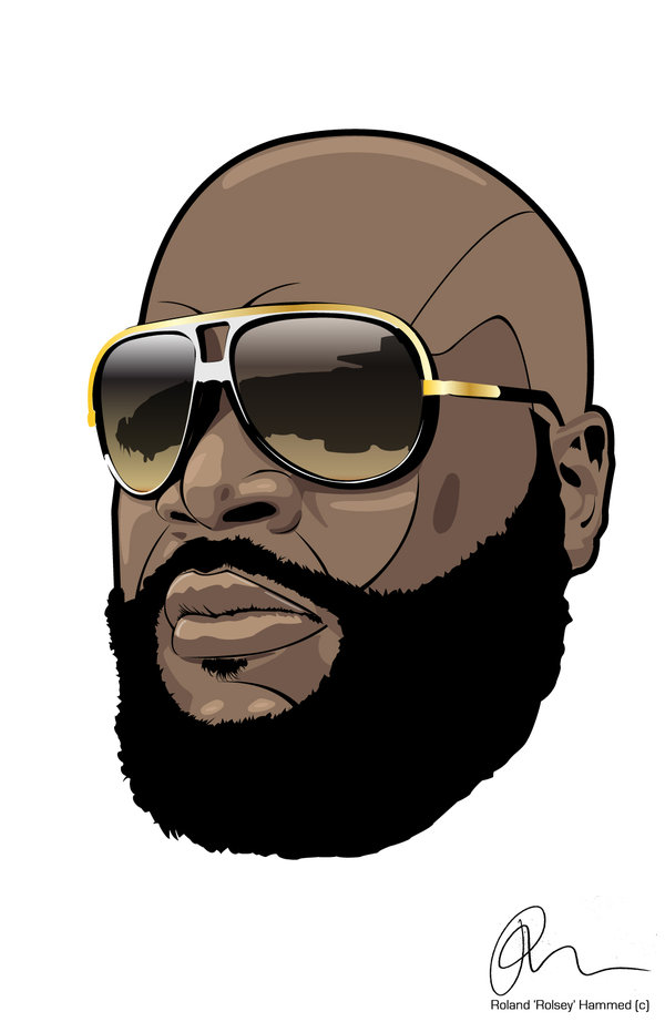 600x922 Rick Ross By Rolsey