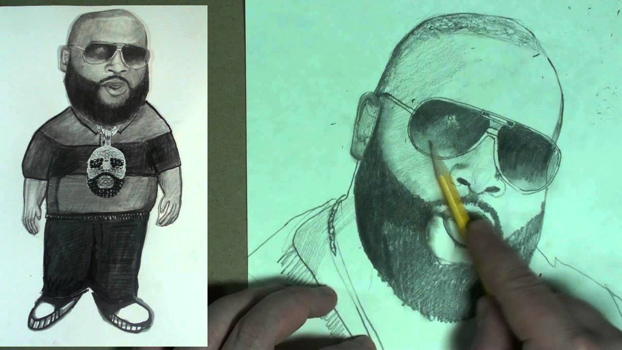 1280x720 Youdraw How To Draw Rick Ross Step By Step