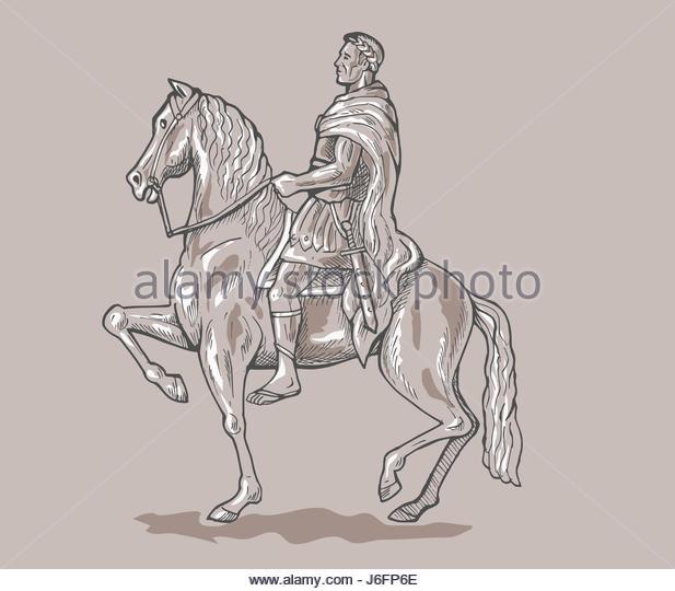 617x540 Roman Emperor Soldier Riding Horse Stock Photos Amp Roman Emperor