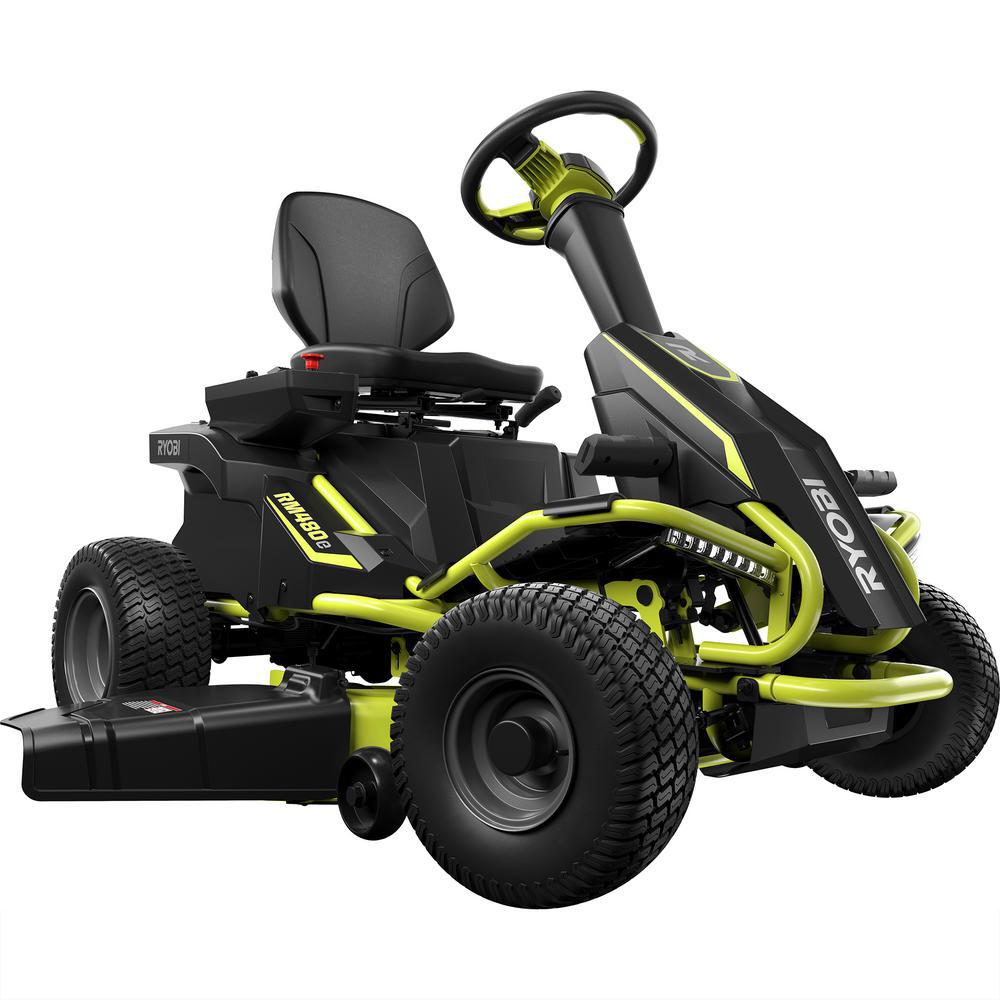Riding Lawn Mower Drawing At Free For Personal Use Husqvarna Wiring Diagram 1000x1000 Ryobi 38 In Battery Electric Rear Engine