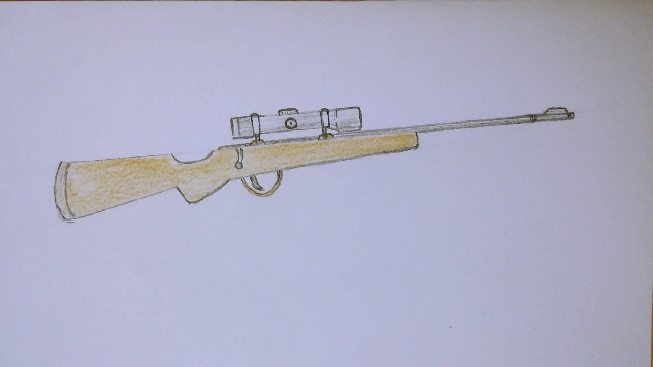 1280x720 How To Draw Sniper Rifle