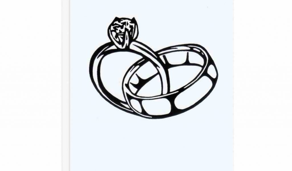 1024x600 Drawing How To Sketch A Ring Draw Diamond Personalized Gift