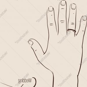 300x300 Wedding Rings Drawing Wedding Rings How To Draw A Simple Ring