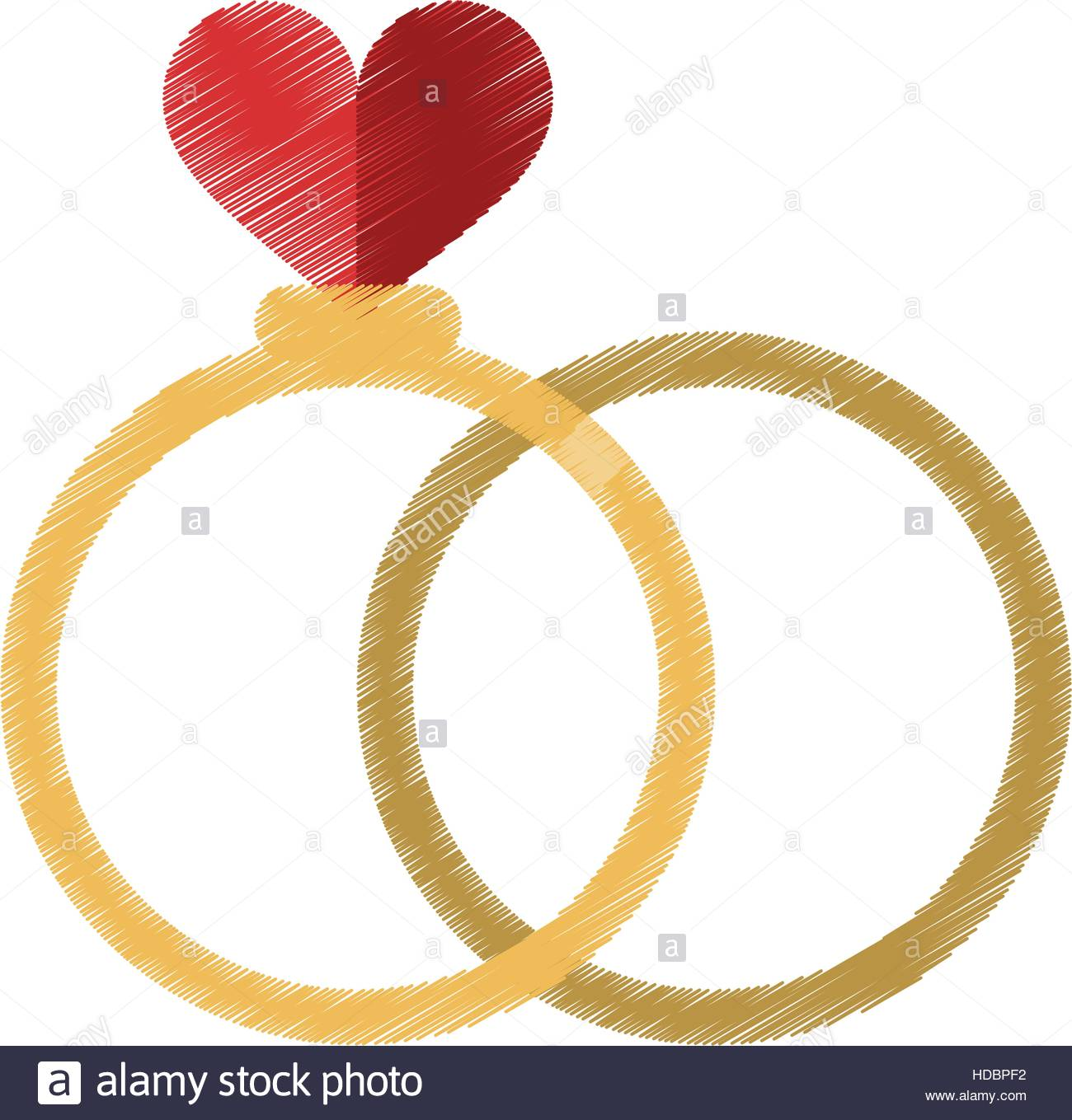 1300x1359 Drawing Two Romance Rings Love Heart Wedding Symbol Stock Vector