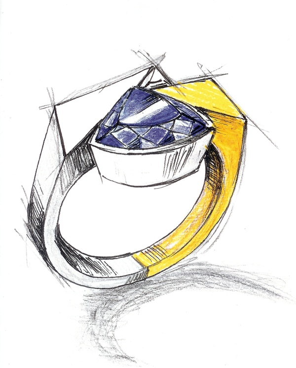 600x747 Rings Drawing Drawing Drawings, Ring And Jewellery