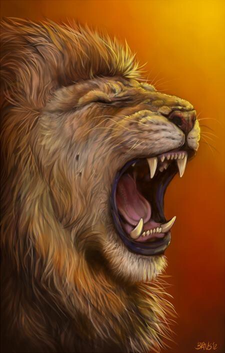 450x706 Lions Roar My Fight Name On Lion, Roaring Lion