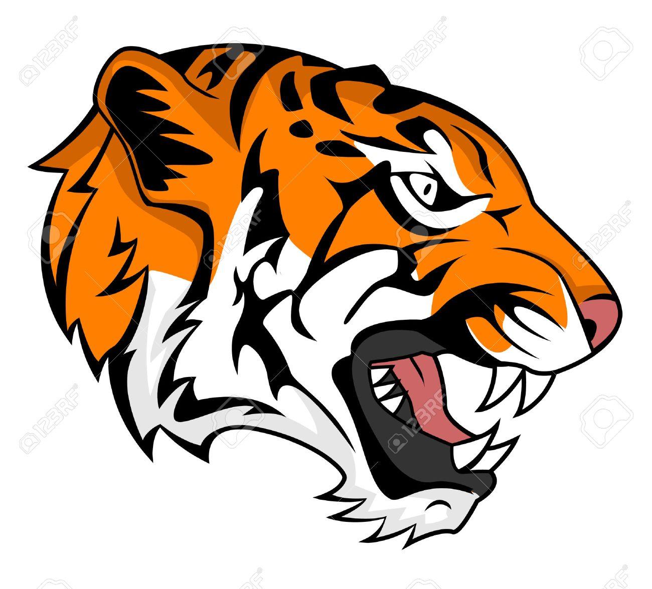 1300x1175 Gallery Tiger Roaring Clip Art,