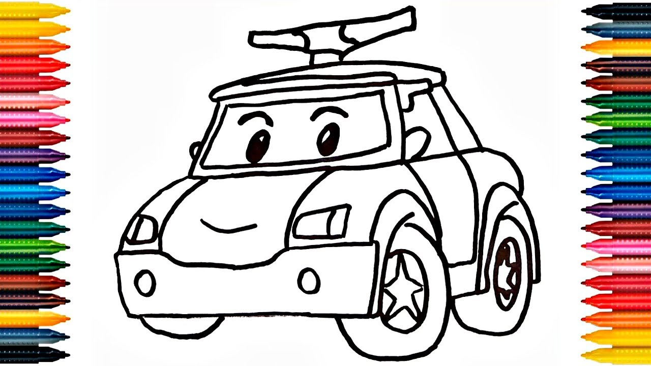 Robocar Poli Drawing At GetDrawings